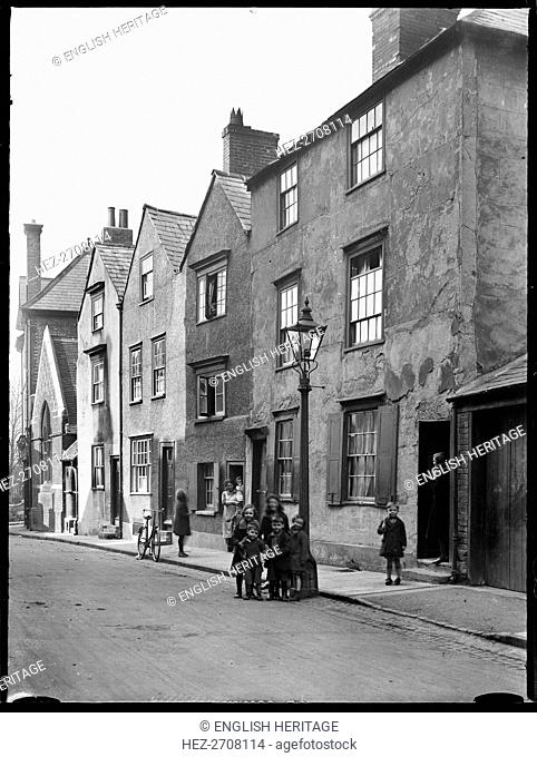 Beef Lane, Oxford, Oxfordshire, 1928. Creator: Michael John Hewetson Bunney