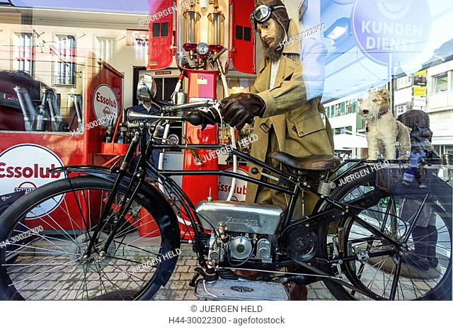 Toy Worlds Museum Basle, Gas Station at 1930, Basel, Switzerland