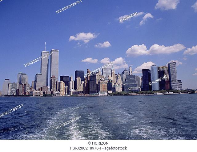 Travel, United States of America, New York, New York City, Pre- 2001/09/11