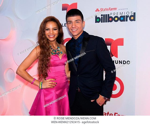 Luis coronel stock photos and images age fotostock presenters and performers meet the press during latin billboard awards 2014 rehearsals at the bank united m4hsunfo