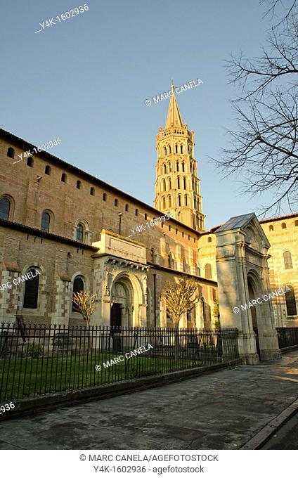 Europe, France, Toulouse, Saint Sernin Basilique