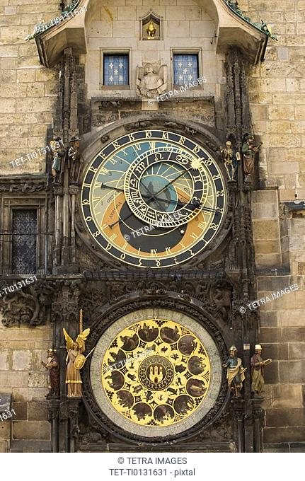 Astrological clock and tower