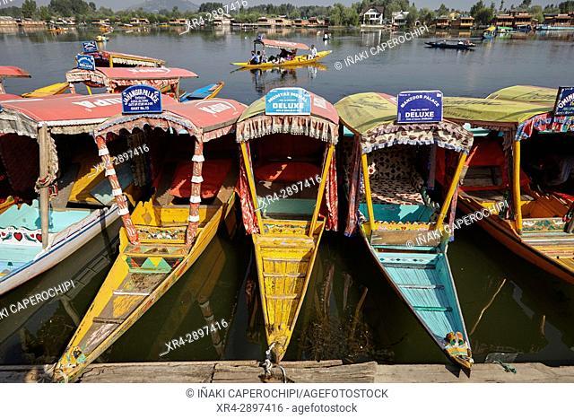 Dal Lake, Srinagar, Jammu and Kasmir, India