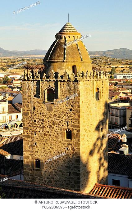 Alfiler Tower. Trujillo, Spain