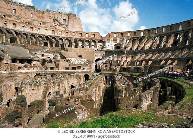 Roman Coliseum  Rome, Italy