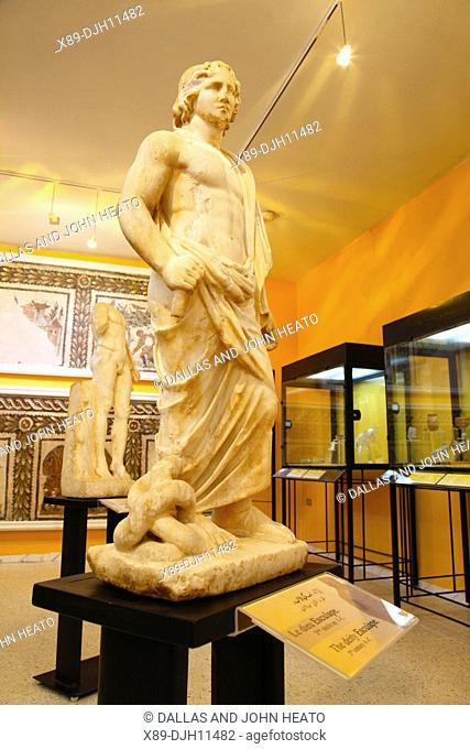 Africa, Tunisia, Utica Archaeological Site, Interior of Utica Museum
