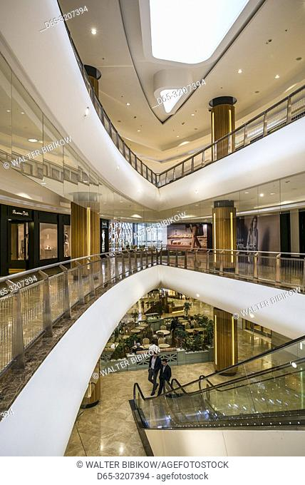 Azerbaijan, Baku, Port Baku Mall, interior