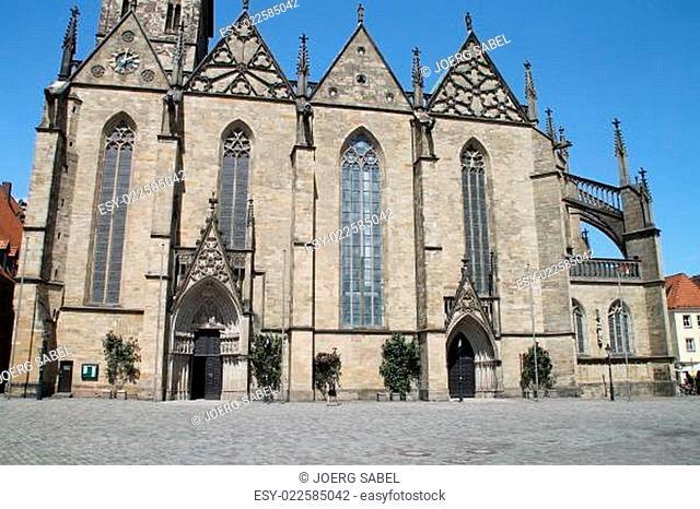 Die Marienkirche am Marktplatz