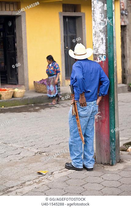 Guatemala, San Antonio Aguas Calientes