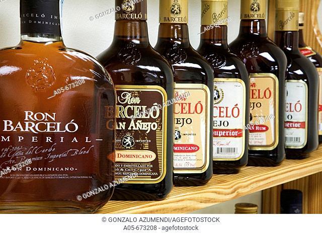 Barcelo Rum. San Pedro Macorís. Dominican Republic