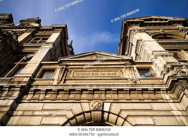 Belgium, Antwerp, Belgian National Bank, exterior