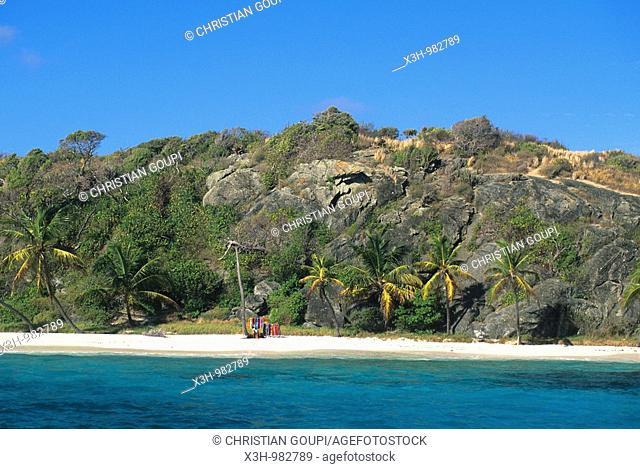Jamesby islet,Tobago Cays,Grenadines islands,Saint Vincent and the Grenadines,Winward Islands,Lesser Antilles,Caribbean Sea