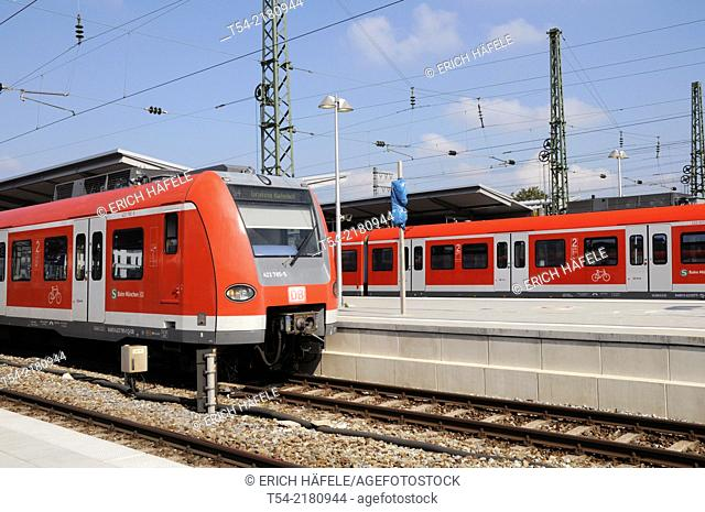 S-Bahn in Munich-Pasing