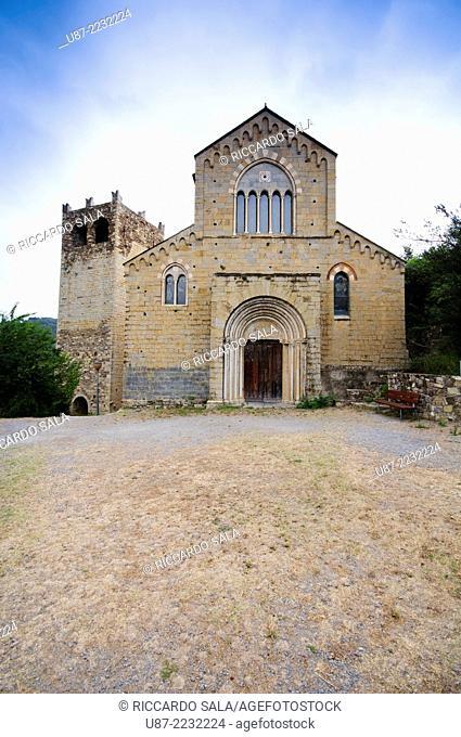 Italy, Liguria, Andora, Santi Giacomo e Filippo Church