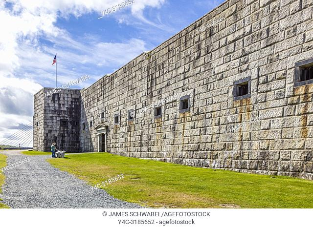 Fort Knox State Historic Site Bucksport Maine United States