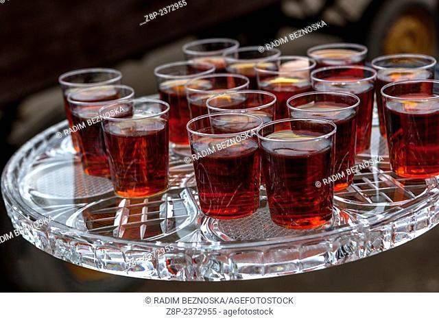 small alcoholic refreshments