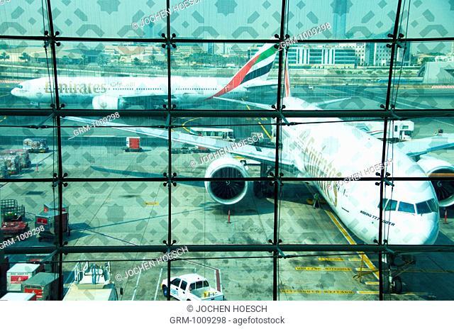 Terminal 3 of Dubai International Airport, Dubai, UAE