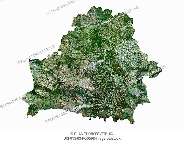 Belarus, Satellite Image