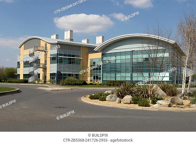 Research building, Cambridge Business Park, Cambridge, UK