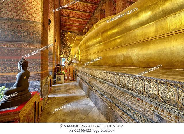 Reclining Buddha of Wat Pho, Bangkok, Thailand