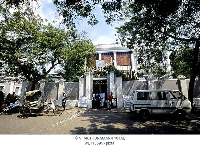 Sri Aurobindo Ashram, Pondicherry,Puducherry, Union Territory of India