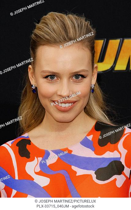"""Gracie Dzienny at the Premiere of Paramount Pictures' """"""""Bumblebee"""""""" held at the TCL Chinese Theatre in Hollywood, CA, December 9, 2018"""