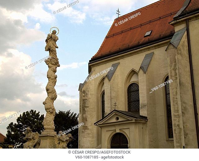 Oudoor church in District 13, Wien, Austria
