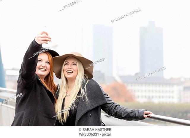 Friends make a Selfie