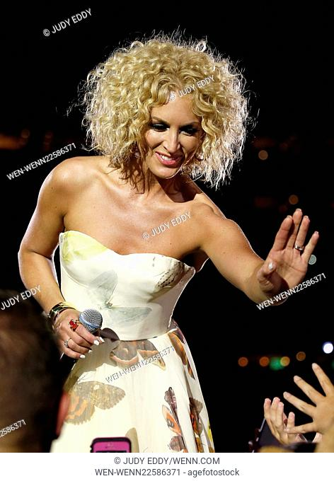 2015 CMA Music Festival at LP Field Day 2 in Nashville, TN Featuring: Kimberly Schlapman Where: Las Vegas, Nevada, United States When: 12 Jun 2015 Credit: Judy...