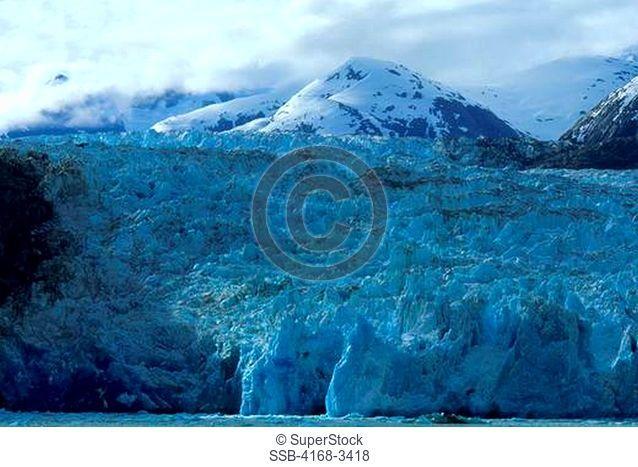 Usa, Alaska, Near Juneau, Tracy Arm, Sawyer Glacier