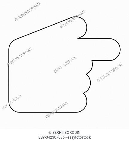 Pointer hand