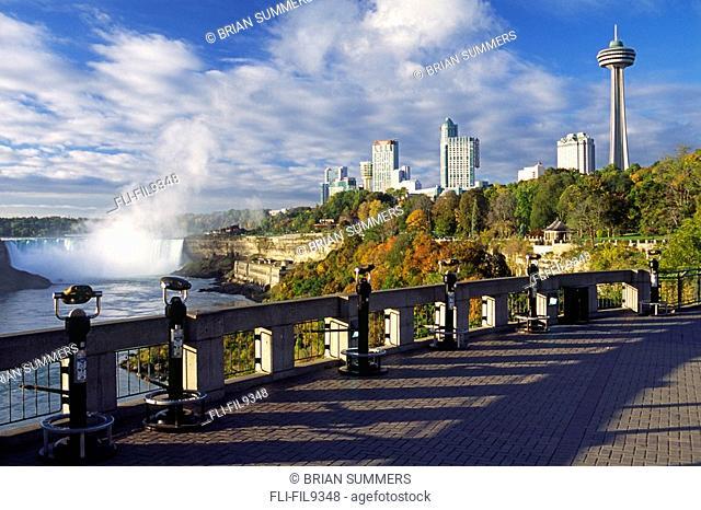 Horseshoe Falls, Fallsview Casino & Skyline Tower, Niagara Falls, Ontario