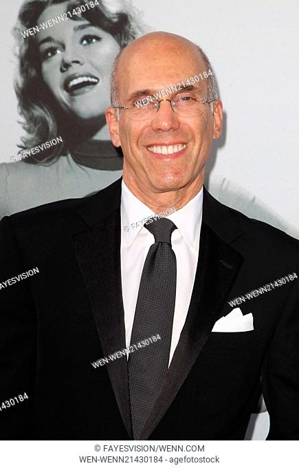 American Film Institute's (AFI) 42nd Annual Life Achievement Award honoring Jane Fonda at The Dolby Theatre - Arrivals Featuring: Jeffrey Katzenberg Where: Los...
