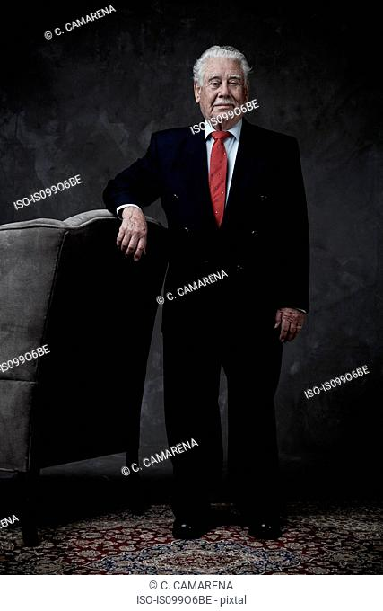 Portrait of a senior businessman standing
