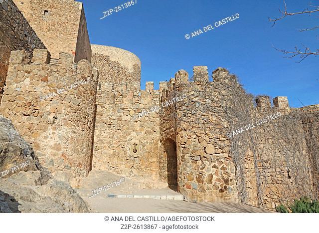 Belmonte castle in Toledo, Spain