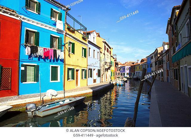 Italy. Venice. Burano