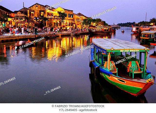 Hoi An riverfront, Hoi An, Vietnam