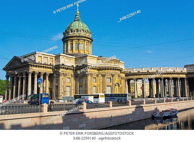 Kazan Cathedral, Saint Petersburg, Russia, Europe