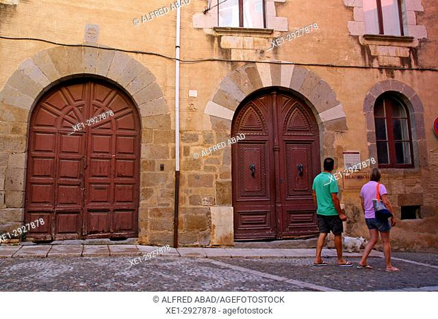 Macelli Palace, Castello d'Empuries, Girona, Catalonia, Spain