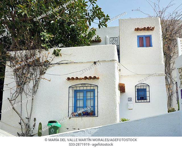 Houses in Mojacar. Almeria. Andalucia. Spain. Europe