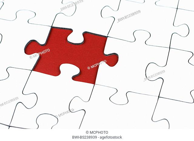 missing part of a puzzle