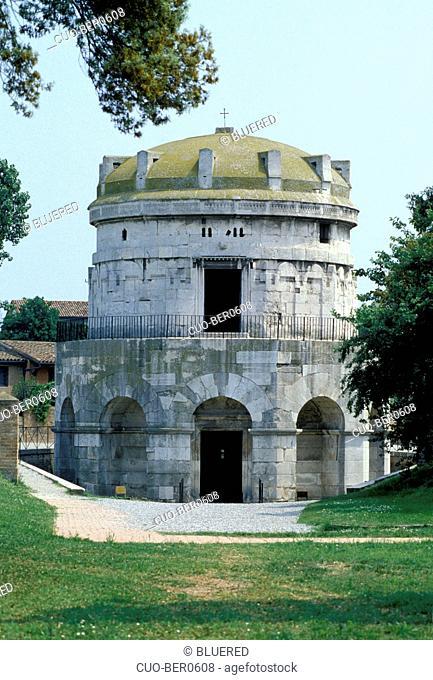 Teodorico's mausoleum, Ravenna, Emilia-Romagna, Italy
