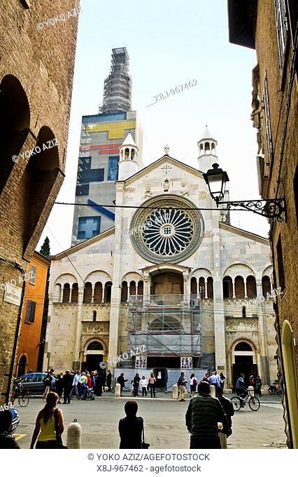 The cathedral, Modena, Italy