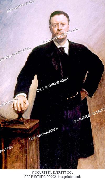 Theodore Roosevelt 1858-1919, U.S. President 1901-1909