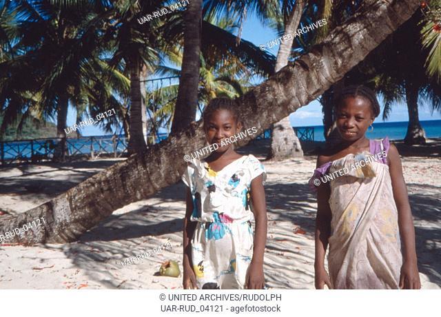 Land und Leute auf Madagaskar, Madagaskar 1989. The country and its people on the island of Madagascar, Madagascar 1989
