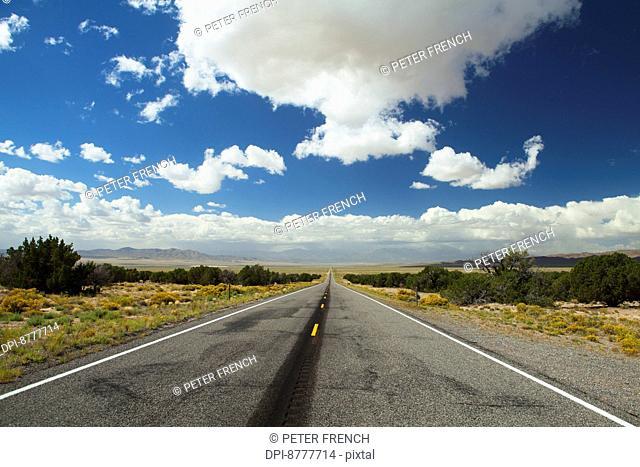Lonesome Highway; Nevada, United States of America