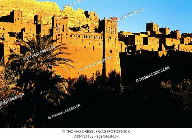 Kasbah, Aït Benhaddou. High Atlas, Morocco