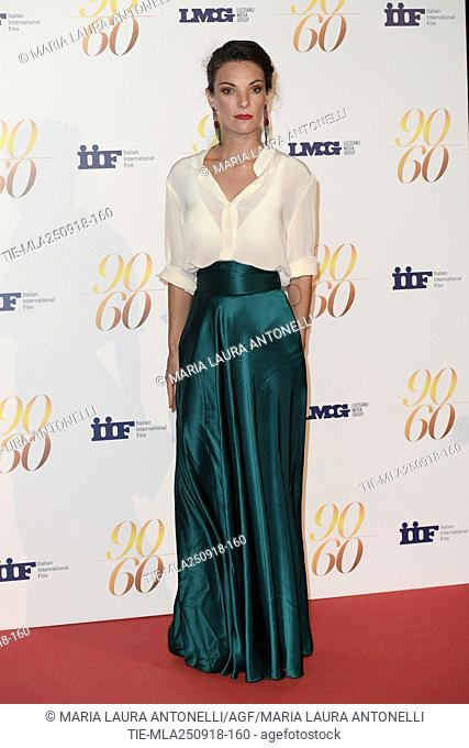 Ginevra Odescalchi during red carpet of 60/90 party, for 60 years of career and ninetieth birthday of Fulvio Lucisano, Italian Film Producer