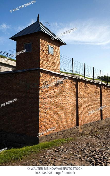 Lithuania, Central Lithuania, Kaunas, Ninth Fort, site of Nazi concentration camp in World War Two
