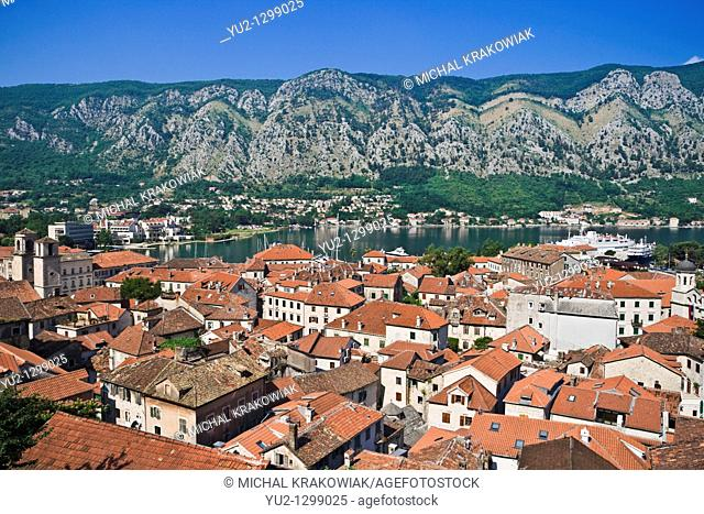 View on Kotor in Montenegro